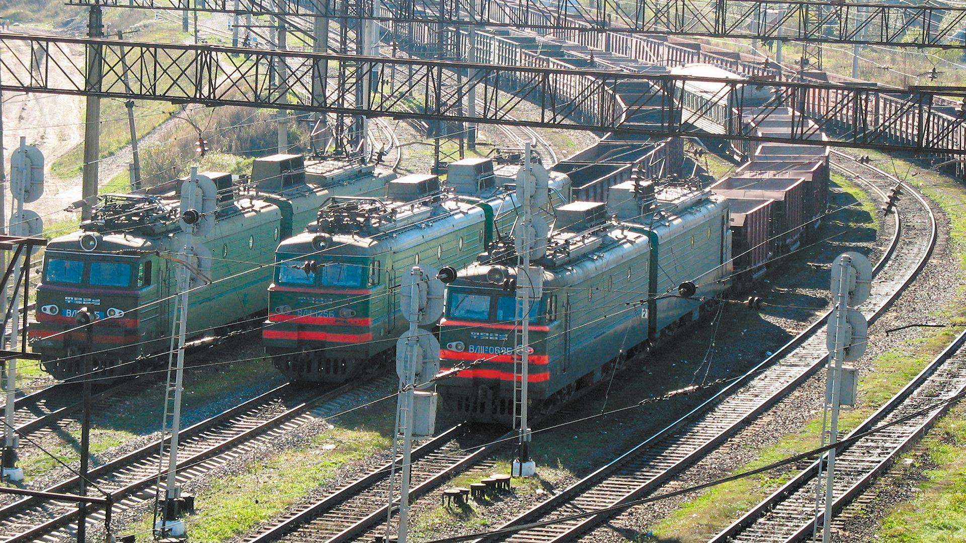 потяг вагони напіввагони залізниця