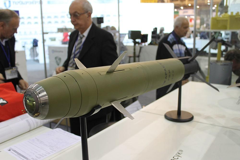 """Розумний 122-мм снаряд """"Карасук"""""""