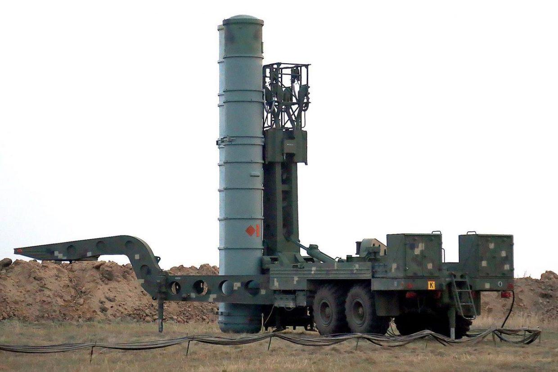 SAM firing S-300 air defense