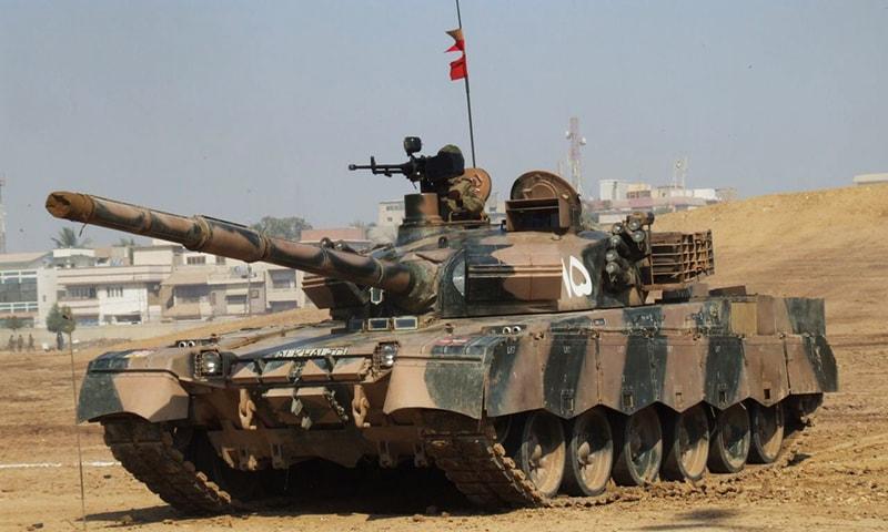 Україна і Пакистан обговорили можливість спільного виробництва танка Аль-Халід-1