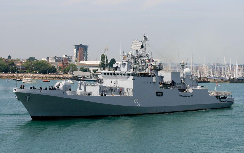 Україна постачатиме турбіни для індійських фрегатів