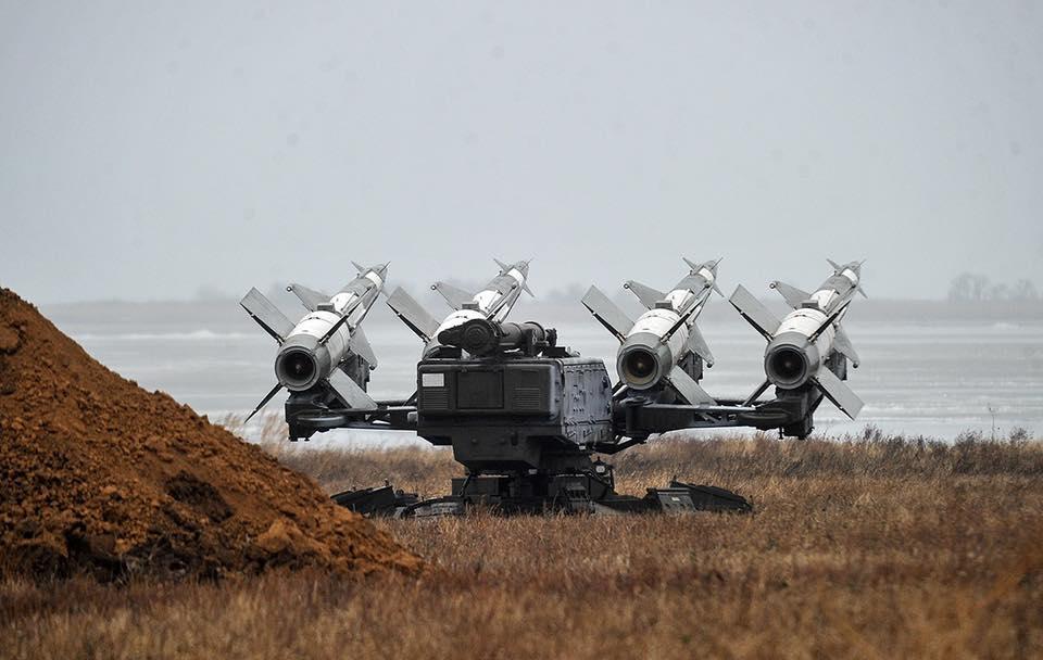 Модернізований комплекс С-125М на випробуваннях знищив всі вісім морських цілей