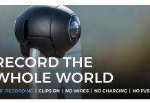 caméra de démarrage fishball