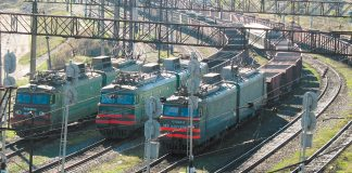 train wagons gondola railroad