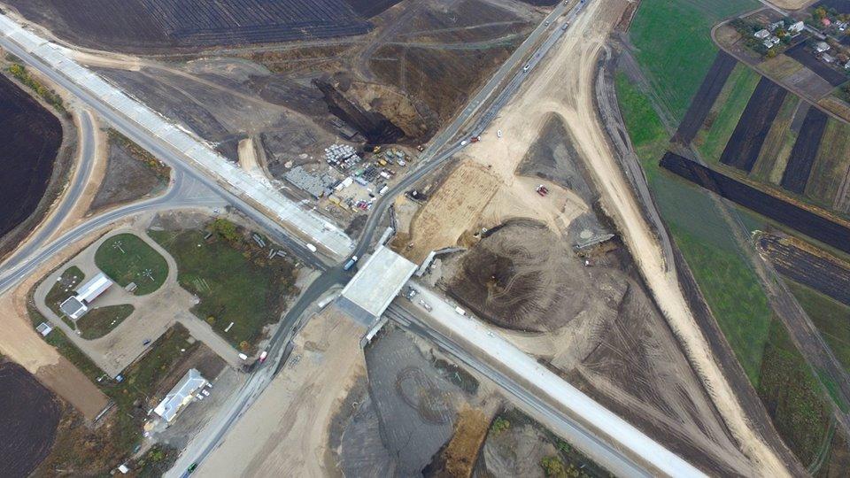 Розбудова інфраструктури: Поступово реалізовується державний інвестиційний проект з розвитку автодороги Н-XNUMX Дніпро - Решетилівка (фото)