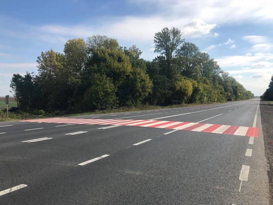 Відновлення автошляхів: На Тернопільщині облаштовують шумові смуги та пішохідні переходи з пластику