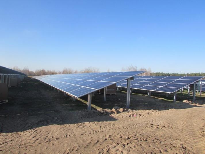 Неподалік села Великі Низгірці будують сонячну електростанцію потужністю 15 МВт