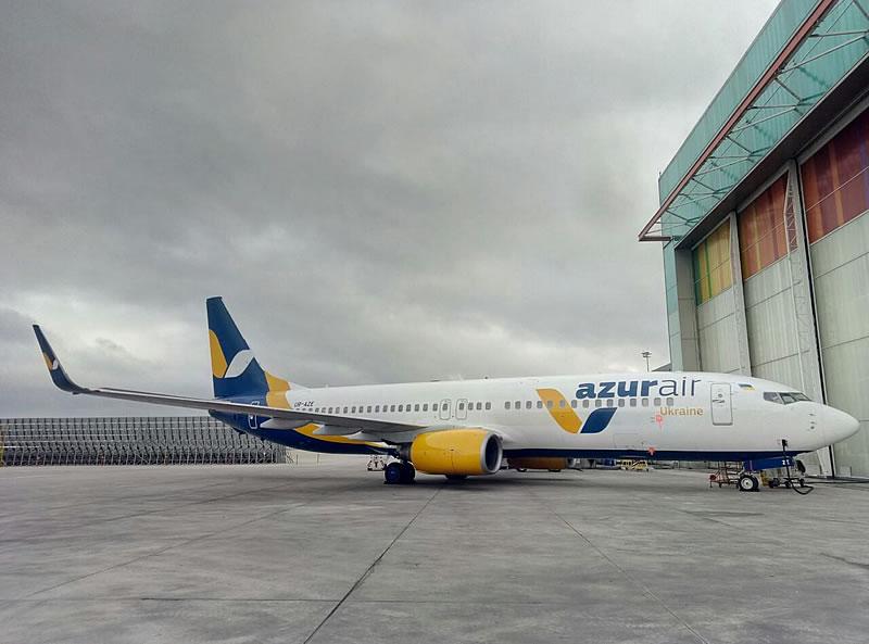 Авіакомпанія Azur Air Ukraine незабаром поповнить свій флот черговим літаком